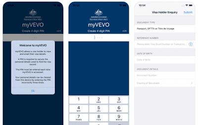cek visa australia dengan menggunakan aplikasi untuk smartphone
