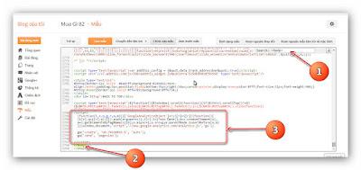 Hướng dẫn thêm Google Analytics cho blogspot (a7)