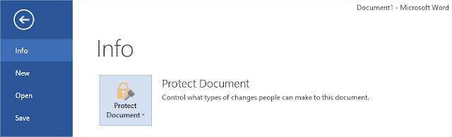 माइक्रोसॉफ्ट ऑफ़िस से डॉक्यूमेंट और पीडीऍफ़ पर पासवर्ड