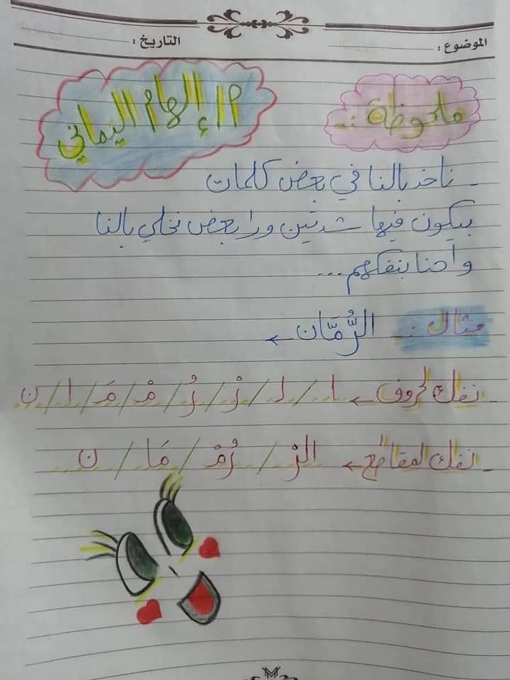تأسيس عربي | أنواع تحليل الكلمات لمقاطع صوتية لكل الصفوف 9