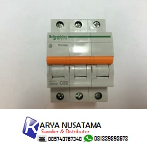 Jual MCB 3P 32A Schneider Circuit Breaker di Sumatera
