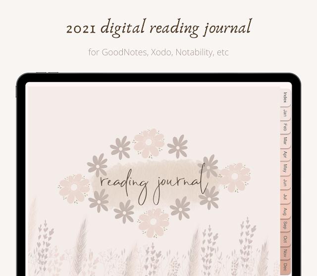 2021 digital reading journal
