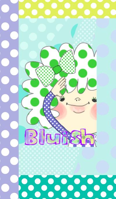 BLUISH dot