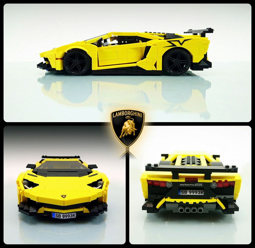 tiles or studs lamborghini aventador superveloce by firas