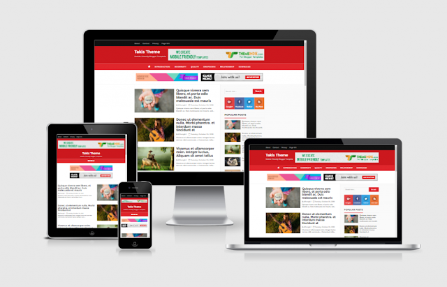 SEO Friendly, Responsive and High CPC Free Blogger Theme