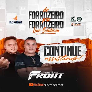 Forró de Front - Live - Maio - 2021