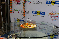 Marath Actrss Urmila Kanitkar Celetes Gudi Padwa in Orange Saree 34.JPG
