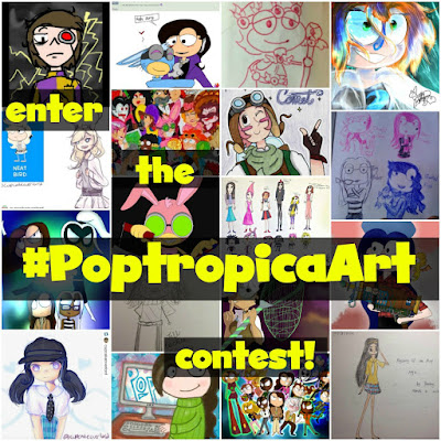 Announcing the #PoptropicaArt Contest!