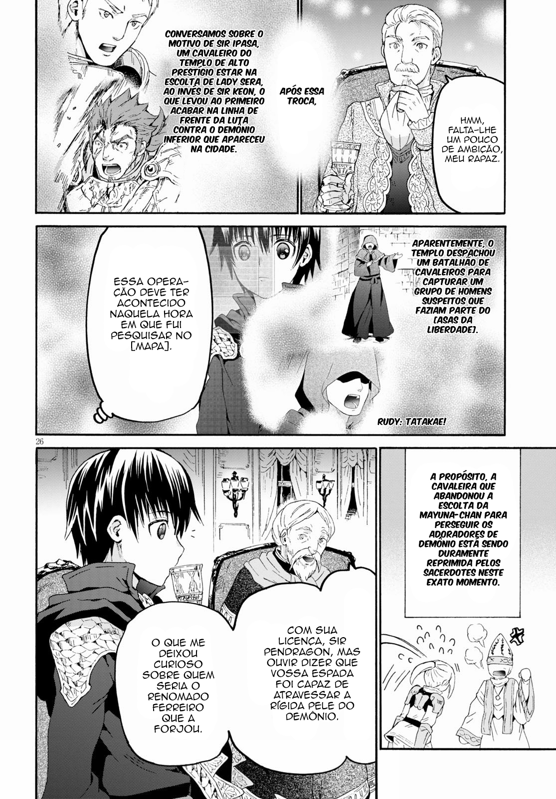 Comic Dragon Age: Death March Kara Hajimaru Isekai Kyousoukyoku / Death March To The Parallel World Rhapsody Manga 82