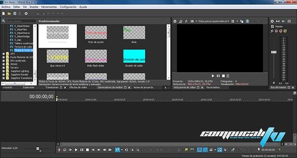 MAGIX Vegas Pro Versión 17.0.0.284 Español