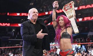 WWE - Sasha Banks aprovecha la última oportunidad para reconquistar el título femenino