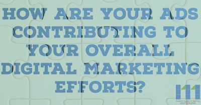 How are your ads contributing to your overall digital marketing efforts?