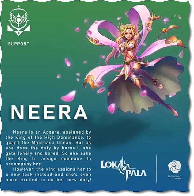 Through their Lokapala Instagram account they officially introduce the two new heroes. In the post also mentioned a description of the profile that became the origin of the two Lokapala heroes. In terms of appearance Neera is portrayed as a Lokapala female knight with the appearance of a mage, most likely when viewed from the profile of this one hero will be equipped with stun and buff skills that are useful for the fight team. As for Sena, Anantarupa's party seemed to be inspired by one of Srikandi's knights, where Sena was depicted as a woman armed with arrows. Interestingly the design of Sena itself looks futuristic with additional shoulder and clothing safety that makes it look more manly.