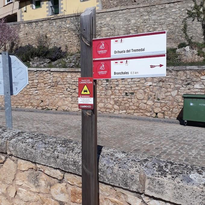 El Consorcio Camino del Cid finalizó la campaña de señalización  y además actualizó los tracks del recorrido