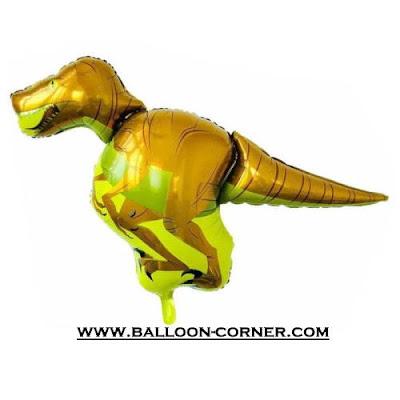 Balon Foil Dinosaurus Raptor