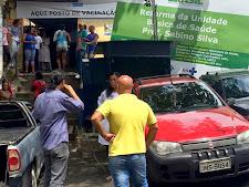 Manifestantes pedem melhorias no posto de saúde do Nordeste de Amaralina