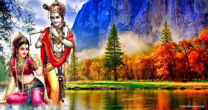 Radha Krishna Janmashtami Festival 4k UHD Wallpaper Pictures