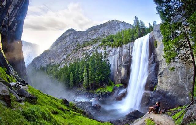 منتزه يوسيميتي الوطني ولاية كاليفورنيا