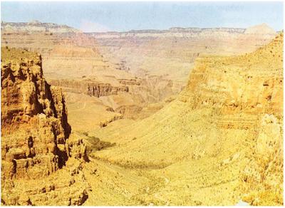 Kenampakan kanyon.