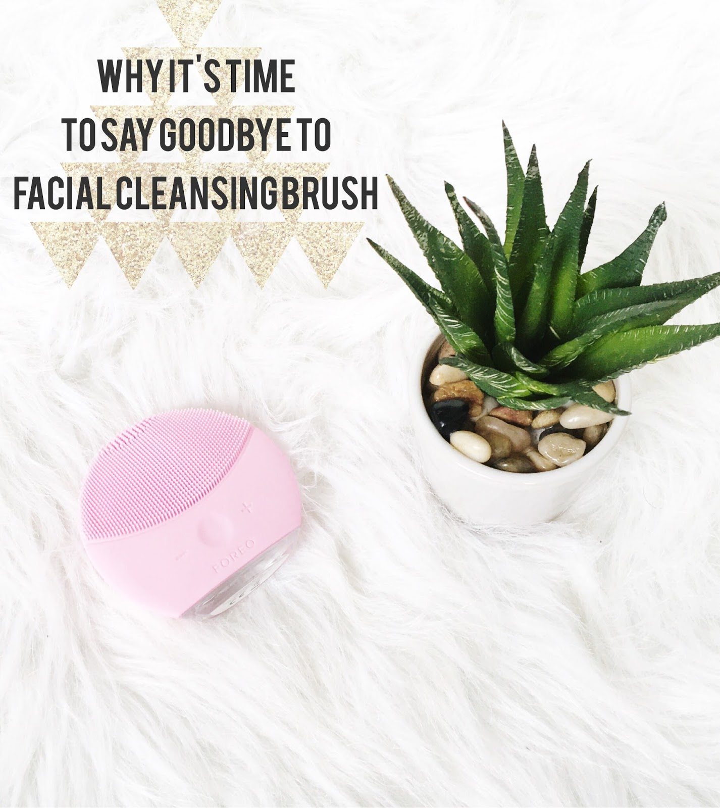 Why It's Time To Say Goodbye To Your Facial Scrub Brush