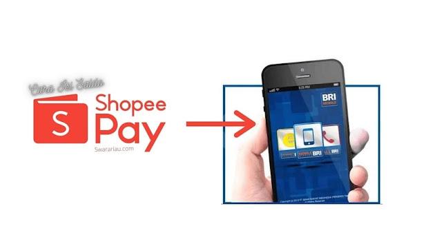 Cara isi Shopeepay via Internet Banking BRI