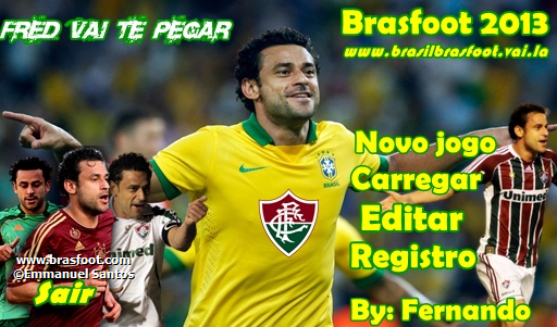 Skin do Fred (PEDIDO)  - Brasfoot 2013