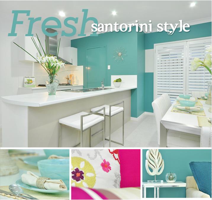 The Wonderful World Of Windemere: Fresh Santorini Style