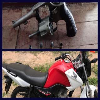 Cipe Sudoeste recupera motocicleta roubada em Barra da Estiva