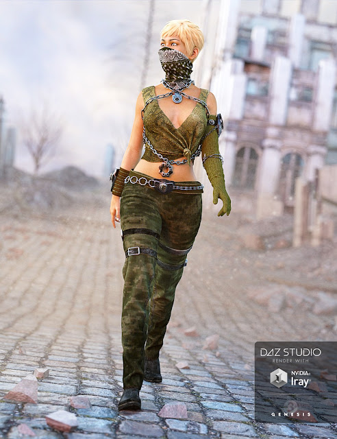 Eternal Desert Warrior Female Textures