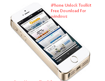 iphone Unlock Toolkit Latest Version v1.0.0.1 Free Download For Windows
