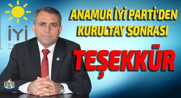 Anamur İyi Parti, SİYASET, Anamur Haber, Anamur Haberleri, Anamur Son Dakika,Osman Kahvecioğlu