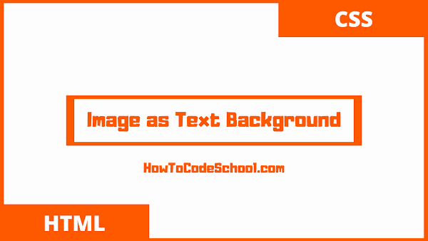 Image as Text Background using CSS background-clip Property