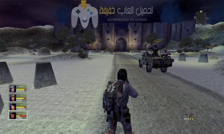 تحميل لعبة عاصفة الصحراء 2 Conflict Desert Storm من ميديا فاير