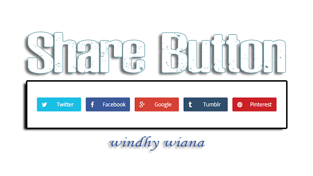 Installing the Share Button Widget in Post