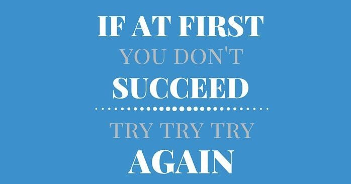 if you dont succeed try again If at first you don't succeed fix your ponytail, and try again - 8 3/4x 3 1/2 - vinyl die cut decal / bumper sticker for windows, trucks, cars, laptops, macbooks, etc.