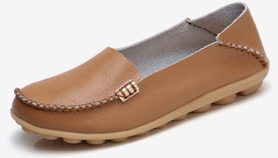 VenusCelia Comfort Walking Flat Loafer