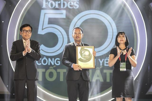 """Nam Long lần thứ 4 có mặt trong bảng xếp hạng """"50 Công ty niêm yết tốt nhất 2019"""" do Forbes Việt Nam bình chọn"""