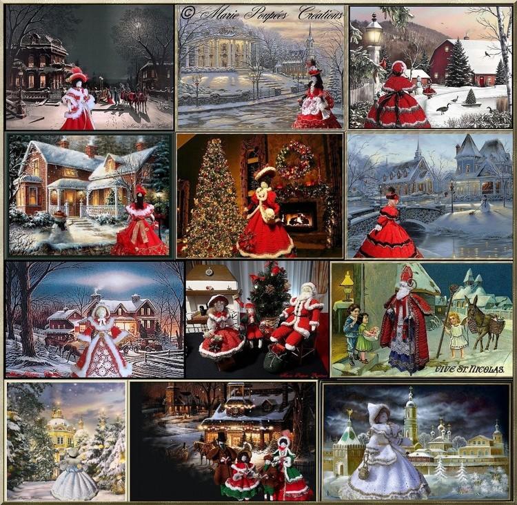 Marie Poupées créations Noël