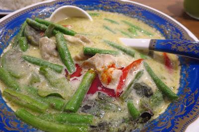 Soi Thai Soi Nice, green curry chicken