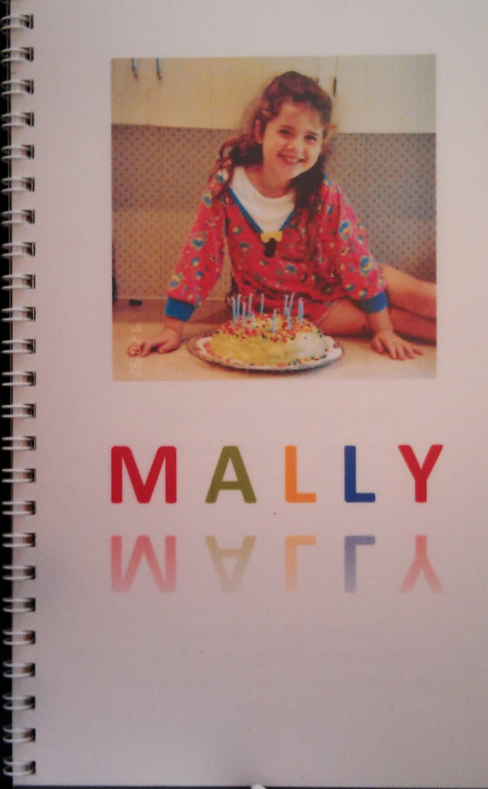 """Mally"" A book for Sarah"