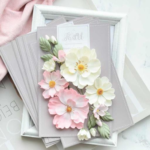 New Pastel Flowers