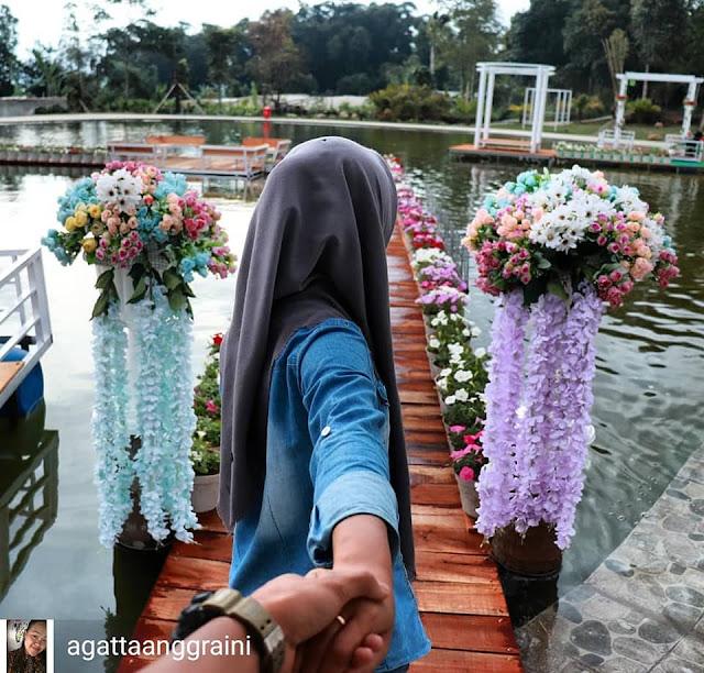 Spot Corner Paling Hits, Wisata Taman Bunga Celosia Bandungan Semarang