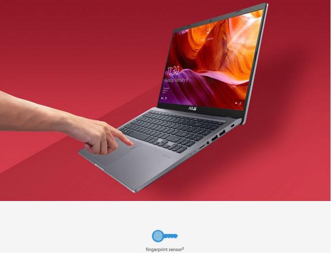 Fitur keamanan pada ASUS VivoBook 15 A516