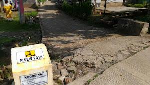 Jalan Pavingblock PISEW 2018 & Gorong-Gorong DD 2018 Desa Sumurlaban Angsana Ambrol