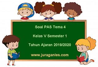 Contoh Soal PAS / UAS Tema 4 Kelas 5 SD/MI Semester 1 K13 Terbaru 2019/2020