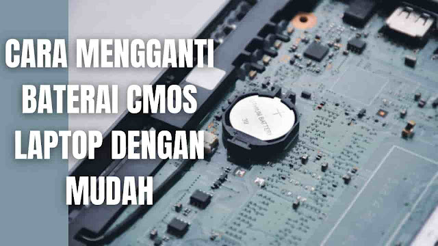 "Cara Mengganti Baterai CMOS Laptop Dengan Mudah | Sipatilmuku.xyz Di dalam mengganti baterai CMOS Laptop ada beberapa langkah-langkah yang harus di ikuti yang diantaranya adalah :  Pada laptop silahkan buka terlebih dahulu penutup laptop, biasanya dibeberapa laptop cukup hanya membuka pada penutup bawah, namun ada juga yang keseluruhan. Apabila sudah terbuka silahkan cari pada motherboard laptop letak dari baterai CMOS, perlu diingat setiap laptop berbeda-beda tempatnya. Setelah ketemu dimana tempat baterai CMOS berada, silahkan lepaskan beterai CMOS dengan sangat hati-hati agar tidak merusak komponen lainnya pada motherboard laptop. Kemudian silahkan lihat tepi apa beterai CMOS yang terpasang pada laptop, kemudian membawanya contoh baterai yang mau dibeli ke toko penjual sparepart laptop. Setelah membelinya silahkan pasang baterai CMOS yang baru ke laptop. Setelah selesai, silahkan pasang kembali penutup laptop dan akhirnya selesai.  NB : Apabila merasa ragu untuk mengganti sendiri baterai CMOS maka silahkan bawa ke tukang Service Laptop agar lebih aman.    Nah itu dia bagaimana cara mengganti baterai CMOS Laptop dengan mudah. Melalui bahasan di atas bisa diketahui mengenai bagaimana cara mengganti CMOS Laptop dengan mudah. Mungkin hanya itu yang bisa disampaikan di dalam artikel ini, mohon maaf bila terjadi kesalahan di dalam penulisan, dan terimakasih telah membaca artikel ini.""God Bless and Protect Us"""