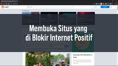 Thumbnail Membuka Situs yang  di Blokir Internet Positif