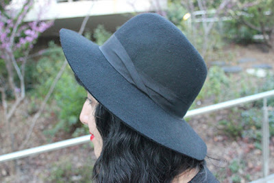 Black Wool Hat Express Winter Outfit Inspiration