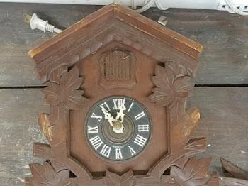 Upcycled Cuckoo Clock