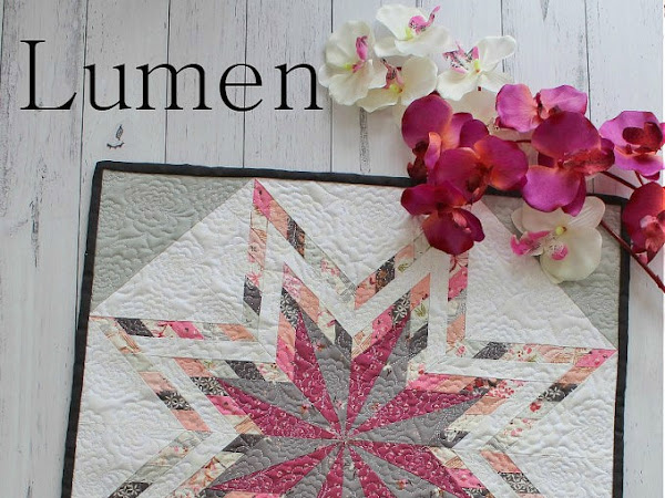 Lumen Mini Quilt + Your Free May 2018 Calendar
